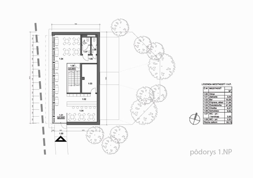 2-cokoladovna-apartmany-novostavba-stare-hory-podorys-1NP