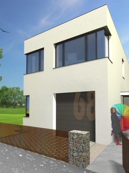 rodinny-dom-novostavba-biely-potok-01-nizkoenergeticky-navrh-domu-moderny-plocha-strecha-architekt-biela-fasada