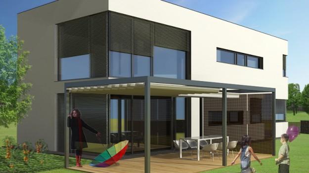 rodinny-dom-novostavba-biely-potok-03-nizkoenergeticky-navrh-domu-moderny-plocha-strecha-architekt-biela-fasada