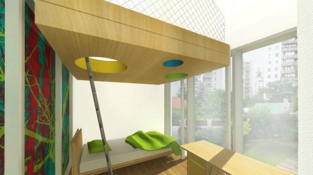 interier-rodinneho-domu-rekonstrukcia-bratislava-stare-mesto-foto-15-vizualizacia-interierovy-dizajner-moderny-styl-detska-izba-s-galeriou-na-hranie
