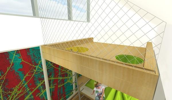 interier-rodinneho-domu-rekonstrukcia-bratislava-stare-mesto-foto-14-vizualizacia-interierovy-dizajner-moderny-styl-detska-izba-s-galeriou-na-hranie