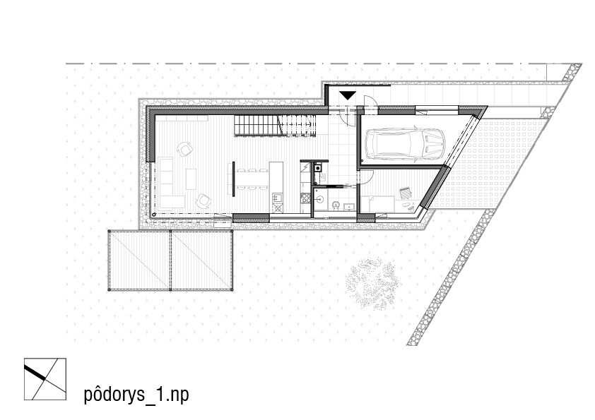 nizkoenergeticky-rodinny-dom-Biely-Potok-podorys-prizemia-1NP