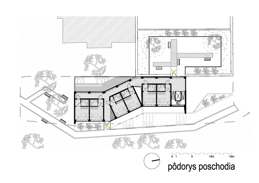 centrum-pre-seniorov-Praha-podorys-poschodia-2NP