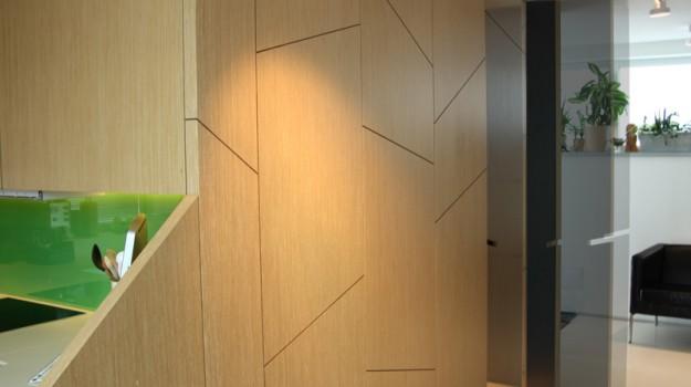 interier-rodinneho-domu-rekonstrukcia-bratislava-stare-mesto-foto-13-interierovy-dizajner-moderny-styl-elegantna-drevena-stena-v-chodbe-so-satnikom