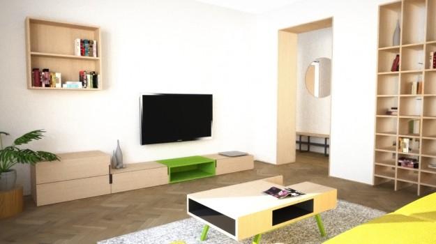 interier-bytu-Stara-Tura-rekonstrukcia-interieru-03-po-rekonstrukcii-interierovy-navrh-svieza-obyvacka-architekt-Bratislava-2-izbovy-tehlovy-byt-seversky-styl-skandinavsky-dizajn-archilab-architekti