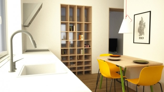 interier-bytu-Stara-Tura-rekonstrukcia-interieru-05-po-rekonstrukcii-interierovy-navrh-svieza-kuchyna-jedalen-architekt-Bratislava-2-izbovy-tehlovy-byt-seversky-styl-skandinavsky-dizajn-archilab-architekti