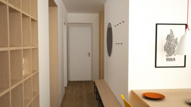 interier-bytu-Stara-Tura-rekonstrukcia-interieru-06-po-rekonstrukcii-interierovy-navrh-architekt-Bratislava-2-izbovy-tehlovy-byt-seversky-styl-skandinavsky-dizajn-archilab-architekti