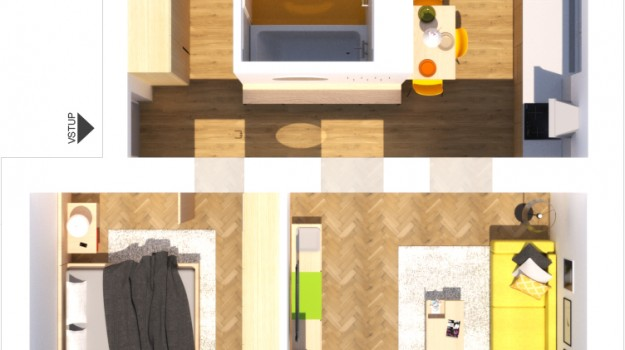 3D-podorys-vizualizacia-bytu-Stara-Tura-rekonstrukcia-interieru-po-rekonstrukcii-interierovy-navrh-architekt-Bratislava-2-izbovy-tehlovy-byt
