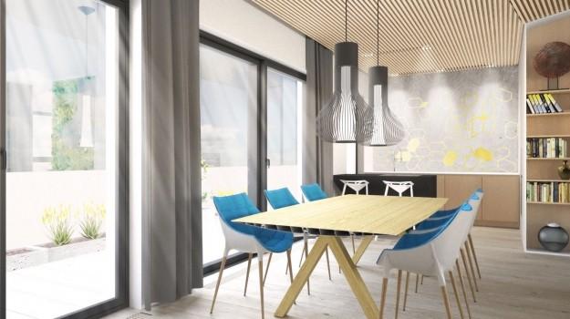 interier-mezonetoveho-bytu-mytna-ul-bratislava-04-luxusny-byt-dizajnovy-priestor-bytovy-dizajner-interierovy-architekt-vertikalna-zahrada-spickovy-navrh-nadherny-jedalensky-stol-krasna-jedalen-kuchyna