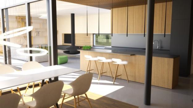 interier-rodinneho-domu-novostavba-Stupava-luxusny-dom-jedinecny-dizajn-03-interierovy-architekt-archilab-krasna-cierna-kuchyna-pracovna-doska-z-umeleho-kamena-dreveny-pult-dizajnovy-nabytok