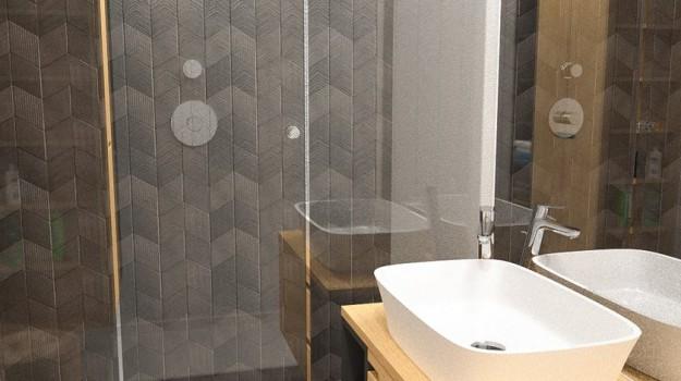 Interier-4-izboveho-bytu-rekonstrukcia-Ambroseho-ul-Bratislava-04-navrh-od-architekta-interierovy-dizajn-moderna-kupelna-stylovy-tmavy-obklad-Mutina