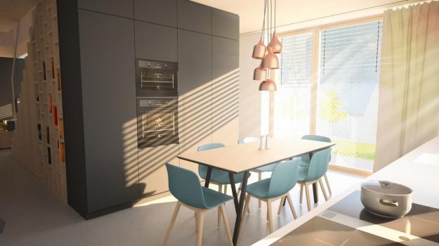 interier-pasivny-rodinny-dom-novostavba-dubova-pri-modre-moderna-kuchyna-krasna-jedalen-dizajnovy-nabytok-medene svetla-skandinavsky-styl-10