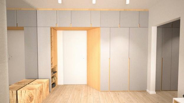 interier-byt-rekonstrukcia-Dibrovova-ul-Stara-Tura-17-navrh-od-architekta-interierovy-dizajn-archilab-vstupny-priestor-satnikova-skrina-na-mieru