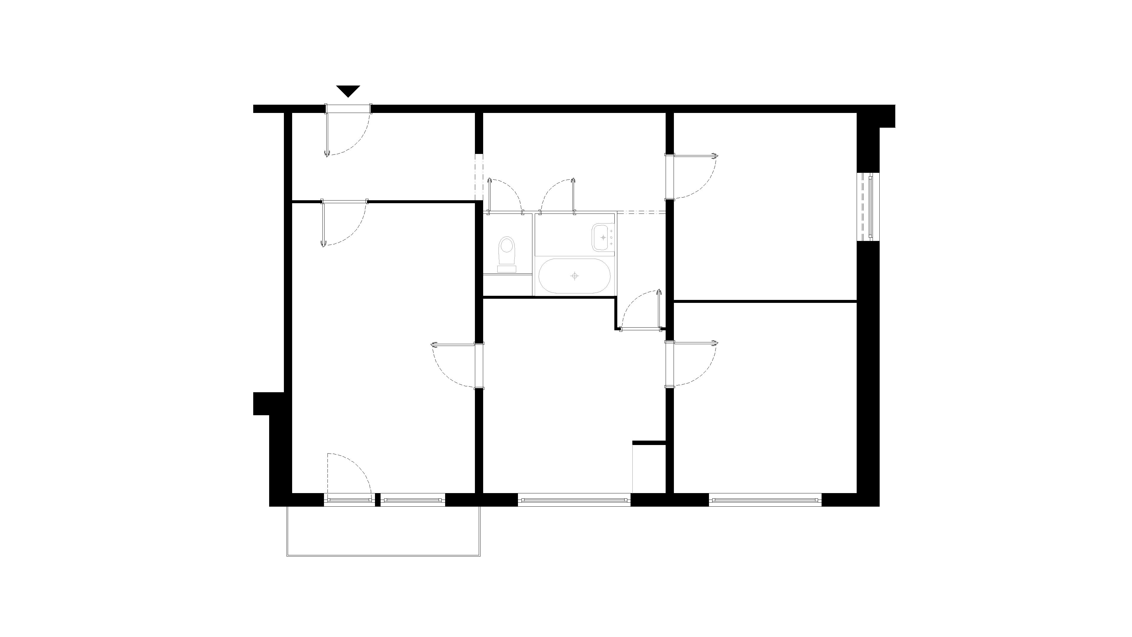 interier-bytu-rekonstrukcia-dibrovova-podorys-01-povodny-stav