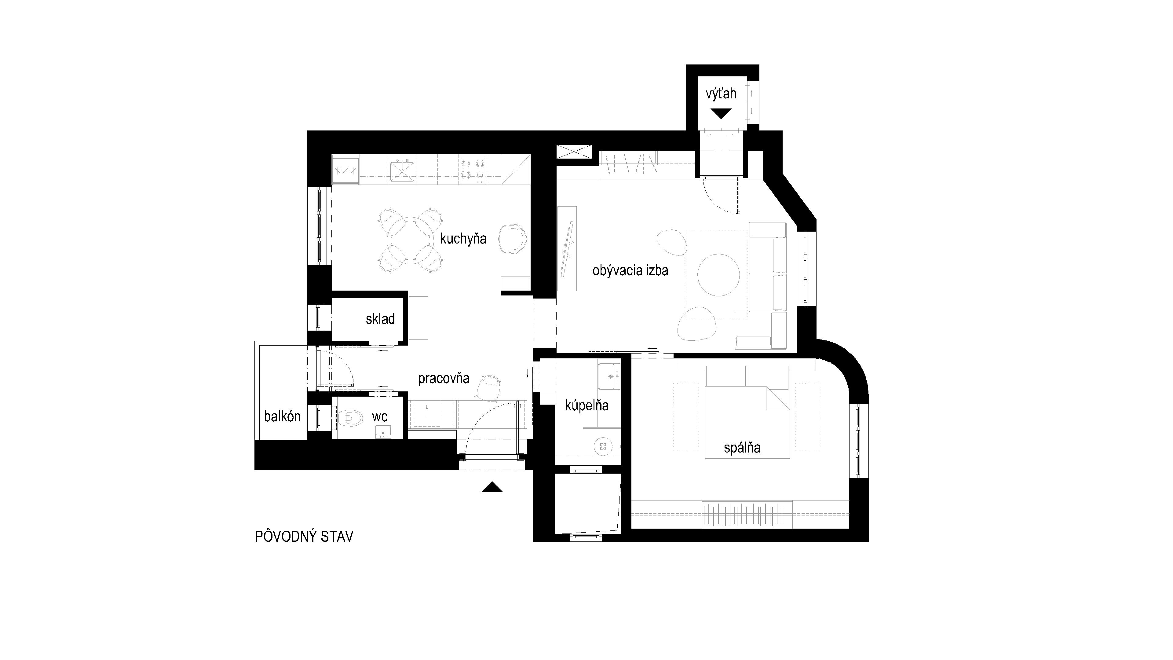 interier-bytu-zochova-podorys-02-po rekonstrukcii