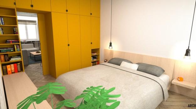 interier-bytu-rekonstrukcia-tokajicka-ul-bratislava-moderny-dizajn-spalna-zlta-skrina-06
