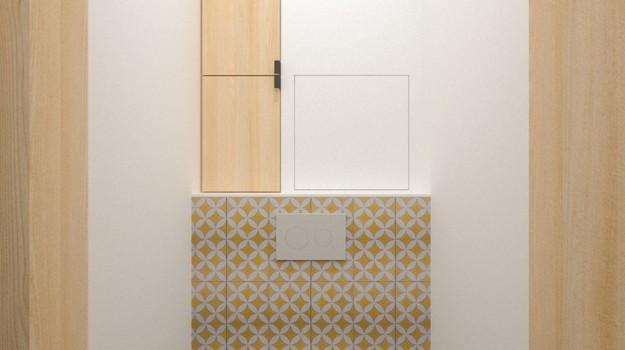 interier-bytu-rekonstrukcia-tokajicka-ul-bratislava-moderne-wc-priemyselny dizajn-cementovy-obklad-so-vzorom-09
