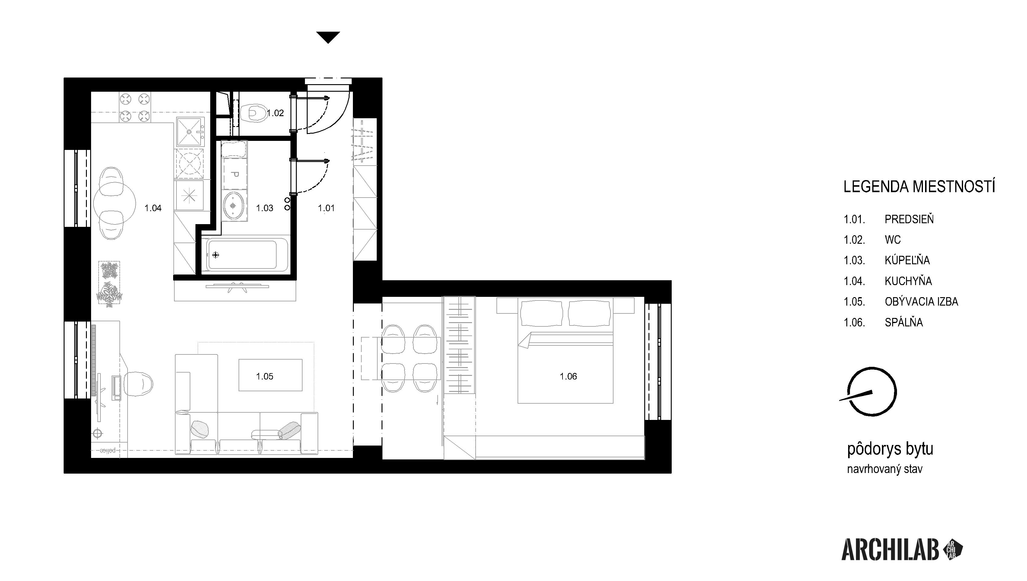 Interier-bytu-rekonstrukcia-Tokajicka-ul-Bratislava-Podorys-navrh-01
