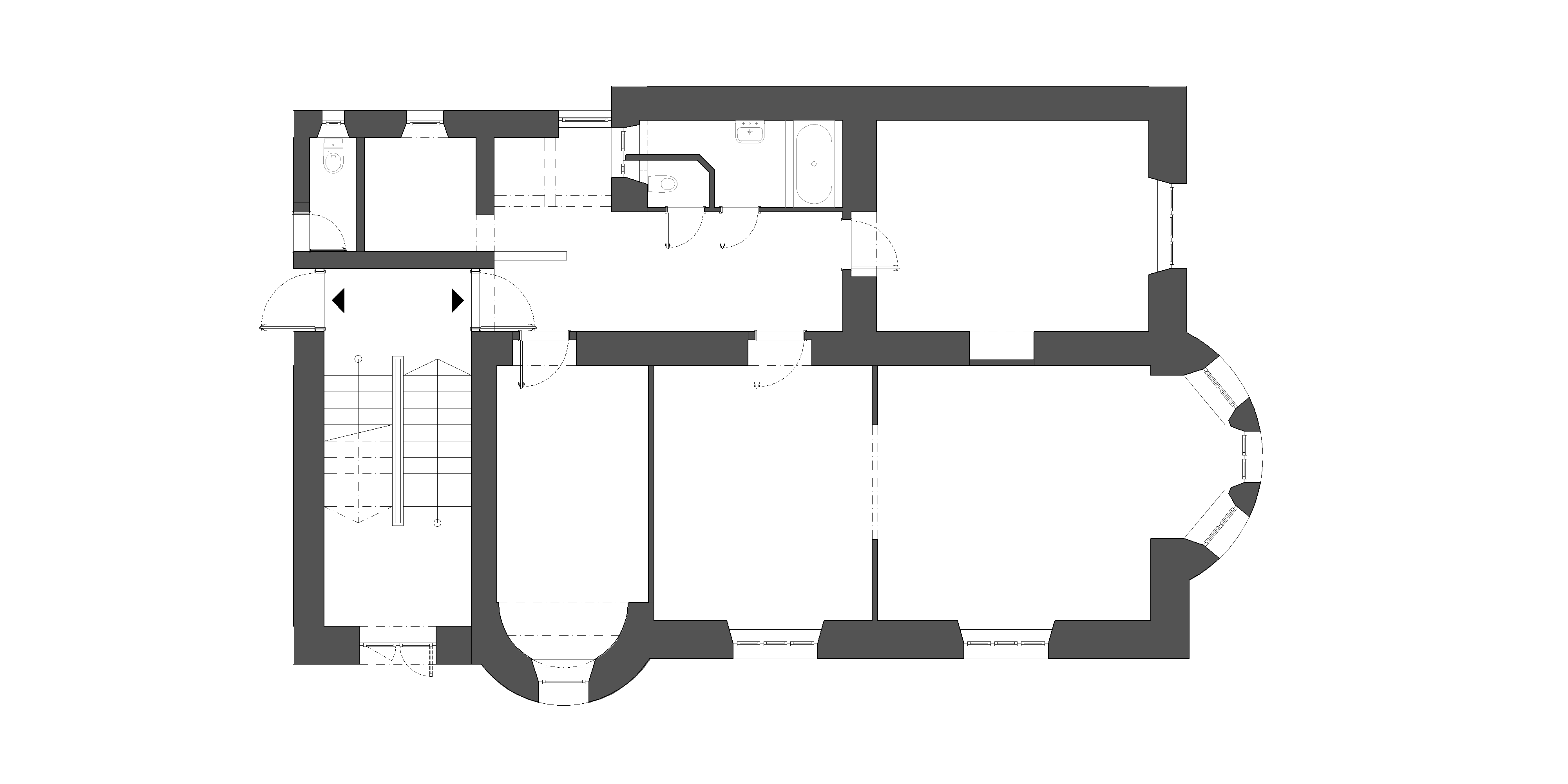 interier-bytu-rekonstrukcia-palisady-Bratislava-podorys-02-povodny-stav-svieza-dispozicia