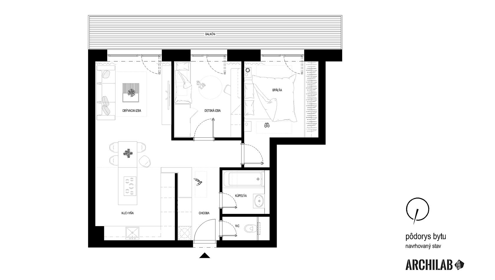 interier-bytu-slnecnice-podorys-3D