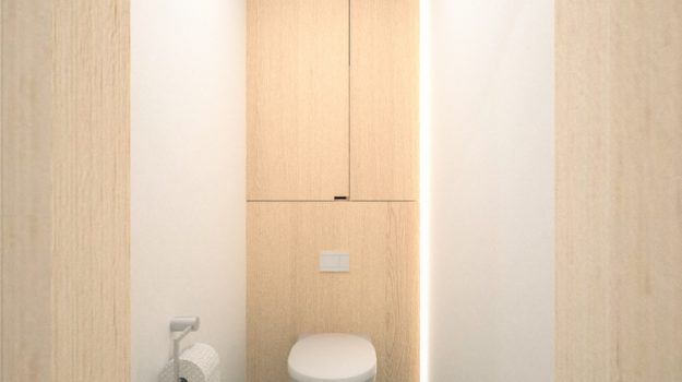 Návrh interiéru bytu, Bratislava, škandinávsky interiérový dizajn, minimalistický štýl 17